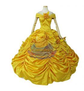 belle dress  4