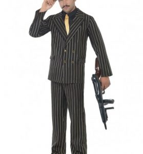 Pinstripe Gangster Suit