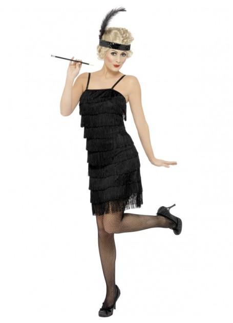 Black Sequinned Cigerette Holder