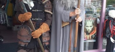 Gandalf and Orc