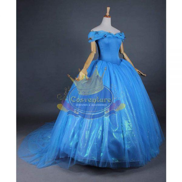 504cb9cce7 Cinderella costume 2015  Cinderella 2015  Cinderella long back dress ...
