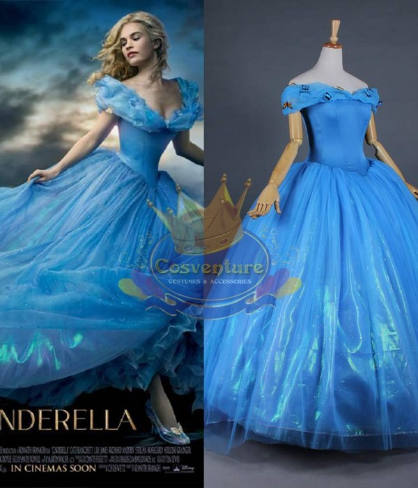 2301f913fa6 Cinderella dress (Long back)