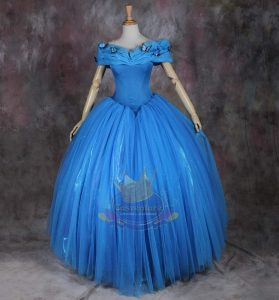 Cinderella floor length back 2015
