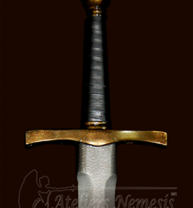 Ateliers Nemesis 48cm Forest Knife- Molded Handle- Tarnished