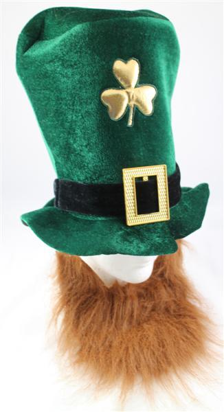 St Patricks Hat with Beard