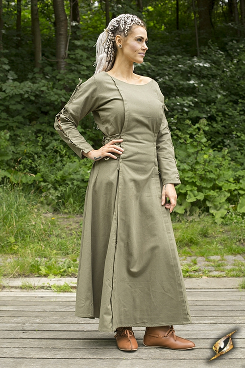 Priestess Dress Green