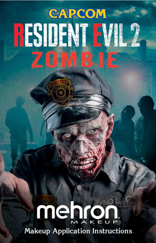 Resident Evil 2 Zombie All Pro Makeup