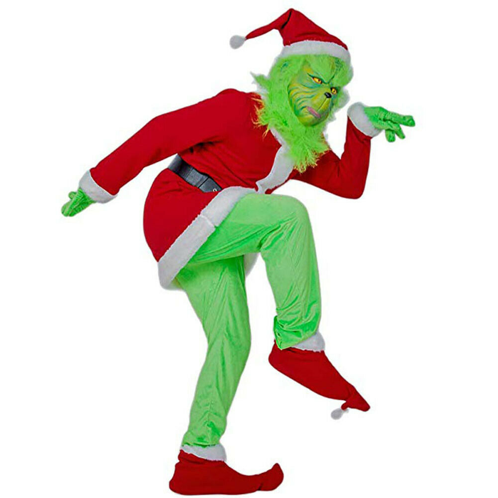 The Grinch Costume with Mask