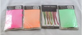 80s Neon Fishnet Stockings