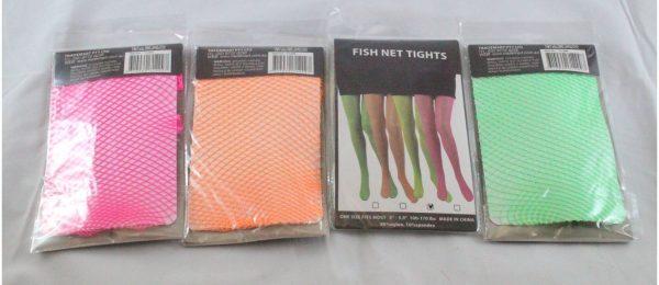 80s Neon Fishnet Stockings