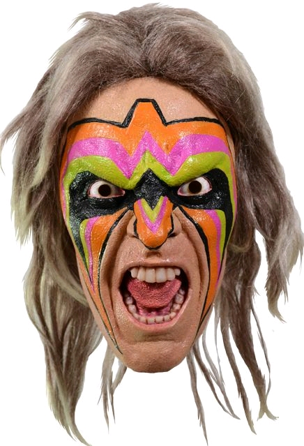 TTSTTWE103--WWE-Ultimate-Warrior-Mask