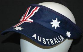 Aussie Flag Visor