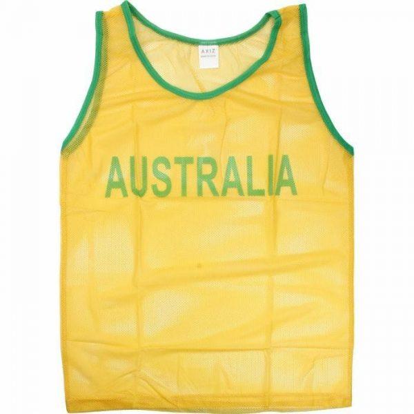 Green and Gold Aussie Singlet