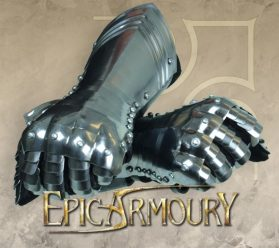 Gothic Gauntlets - Epic Armoury