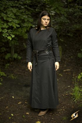 Priestess Dress Black Medium