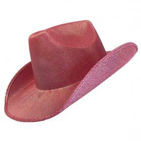Cowboy Hat - Shimmer Pink