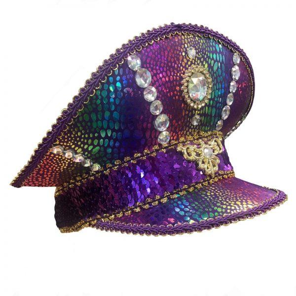 Purple Festival Visor