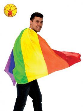 Rainbow Flag Cape - Adult
