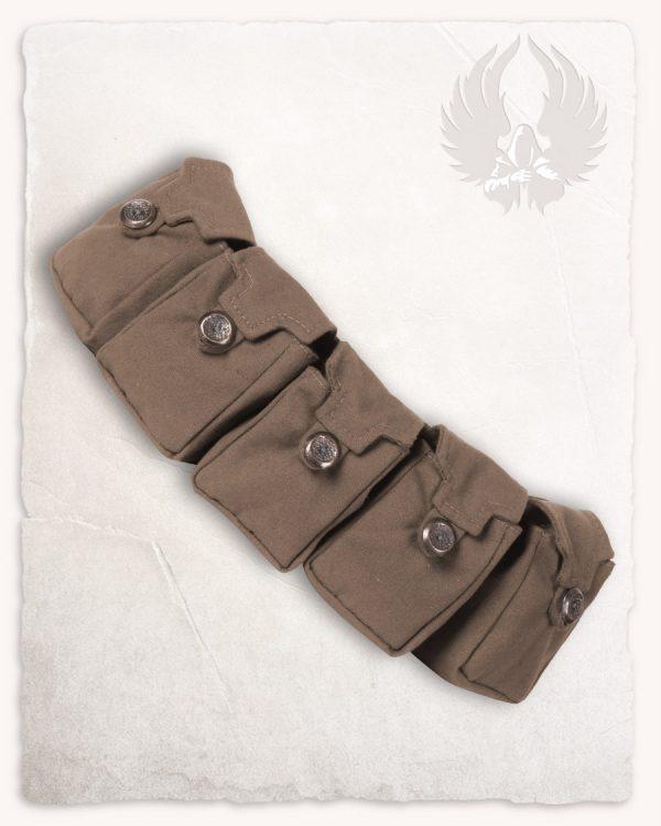 Borchard Belt Bag Set Brown