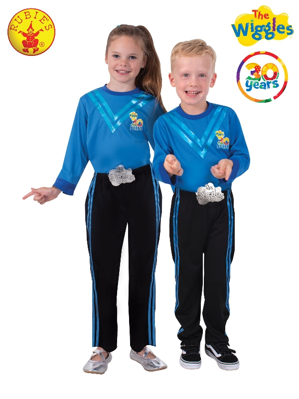 ANTHONY WIGGLE DELUXE 30TH ANNIVERSARY COSTUME, CHILD