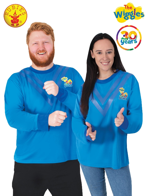 ANTHONY WIGGLE DELUXE 30TH ANNIVERSARY COSTUME TOP, ADULT
