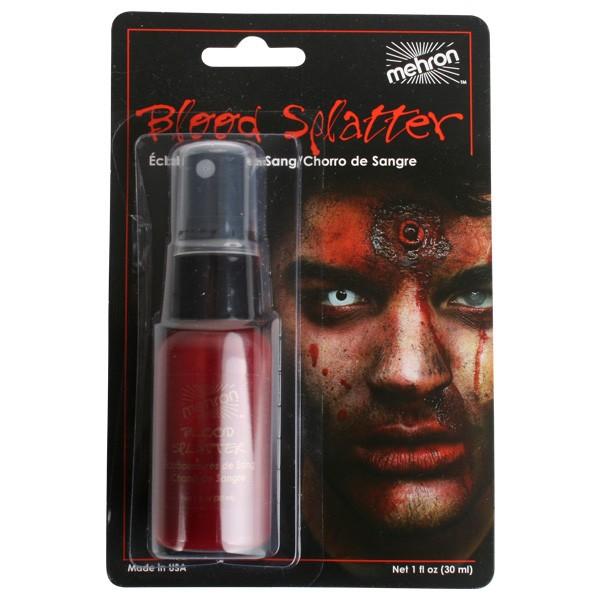Mehron Blood Splatter Pump Spray