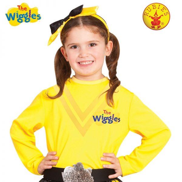 EMMA WIGGLE COSTUME TOP, CHILD