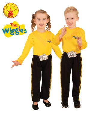 EMMA WIGGLE DELUXE PANTS COSTUME, CHILD