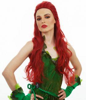 Long Red Women's Wig