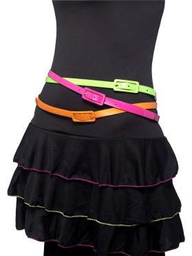 Neon 80s Belts