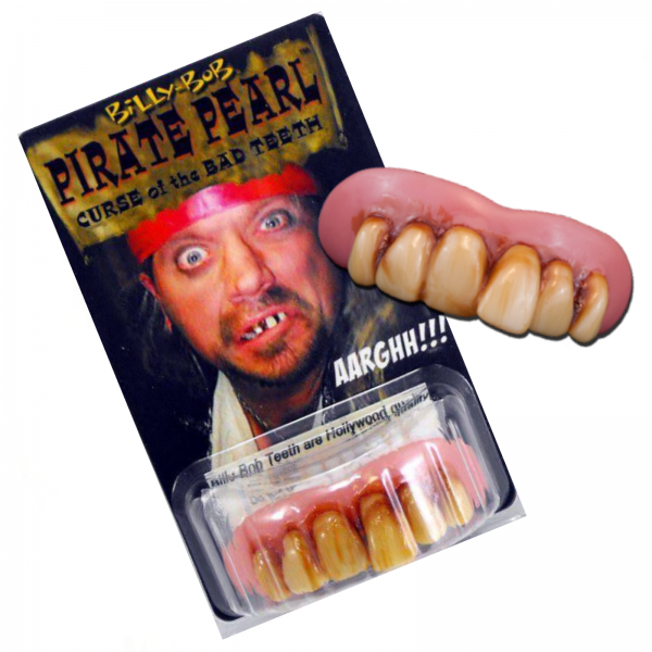 Pirate Pearl Les Patterson Teeth