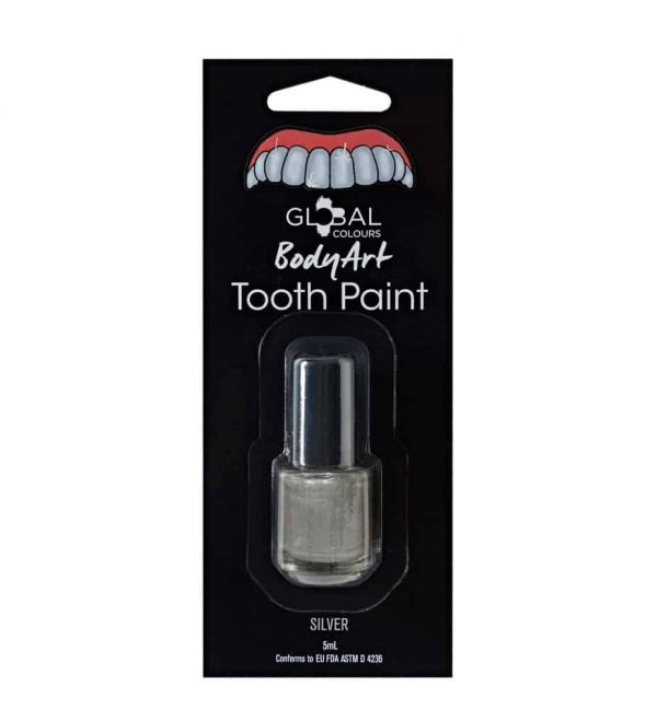 Global Colours Tooth Paint Silver