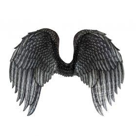 Black Printed Wings