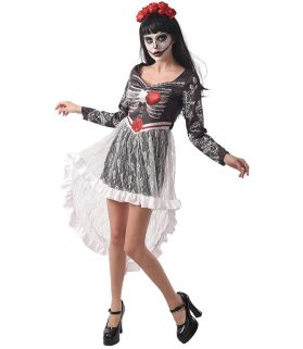 Day of the Dead Lace Dress