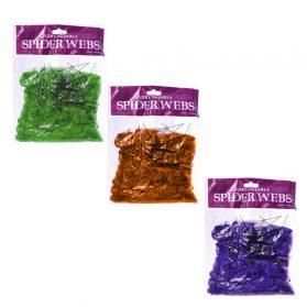 Coloured Spiderweb