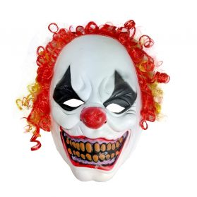 Clown Mask With Hair