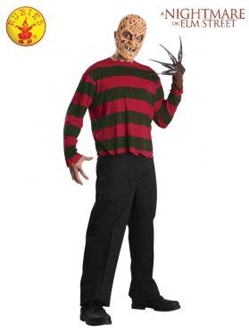 Freddy Krueger Mask and Shirt