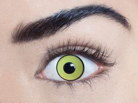Mal Chick Yellow 1 Day Yellow UV Lenses