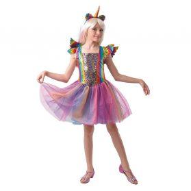 Rainbow Glitter Unicorn Dress