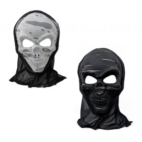 Tattered Mask With Hood